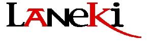Laneki logo gorria