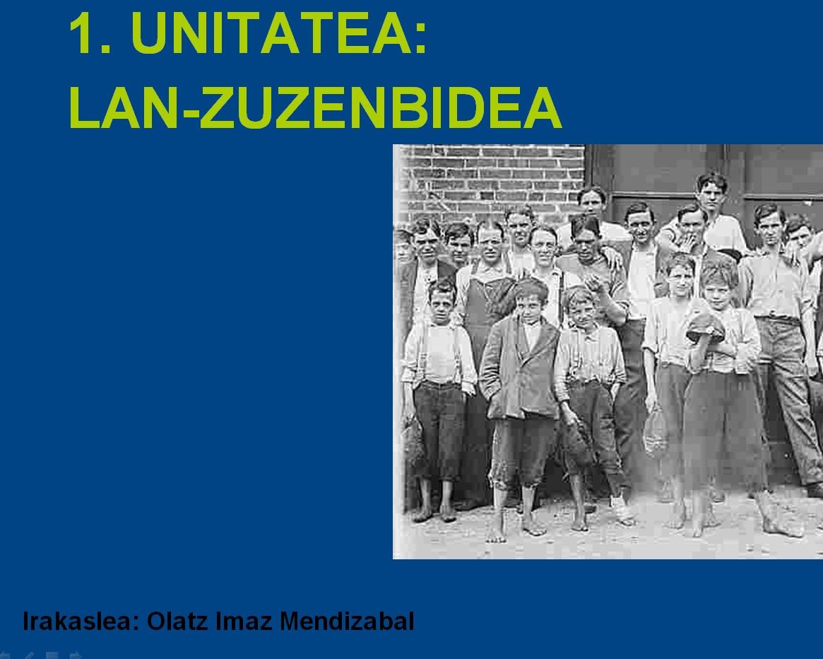 Lan Zuzenbidea